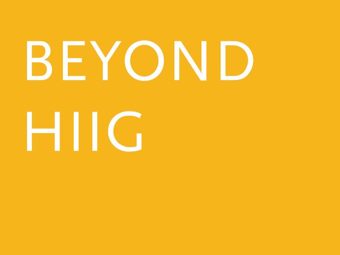 Beyond HIIG